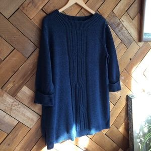 Style & CO. Navy Sweater Dress